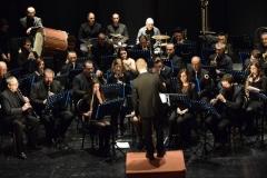 Maestro Gianluca Sartori e Banda Alaleona Montegiorgio Concerto Teatro