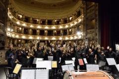 Maestro Lelio Leoni e Banda giovanile Montegiorgio Teatro