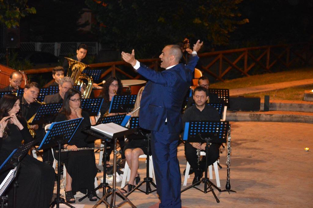Maestro Gianluca Sartori e Banda Alaleona Montegiorgio Castagneto