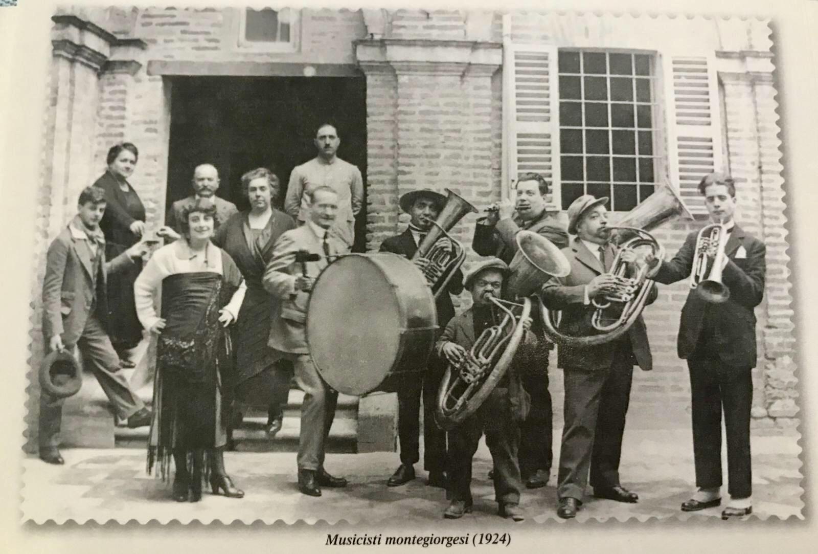Musicisti montegiorgesi 1924