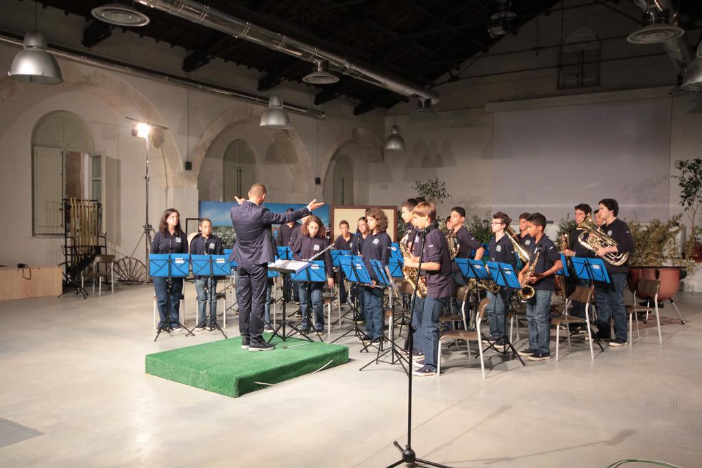 Junior Band Favignana concorso con il Maestro Gianluca Sartori