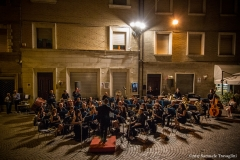 Maestro Gianluca Sartori e Banda Alaleona Montegiorgio Concerto estivo 2017