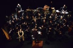 Maestro Gianluca Sartori e Banda Alaleona Montegiorgio concerto Natale 2017