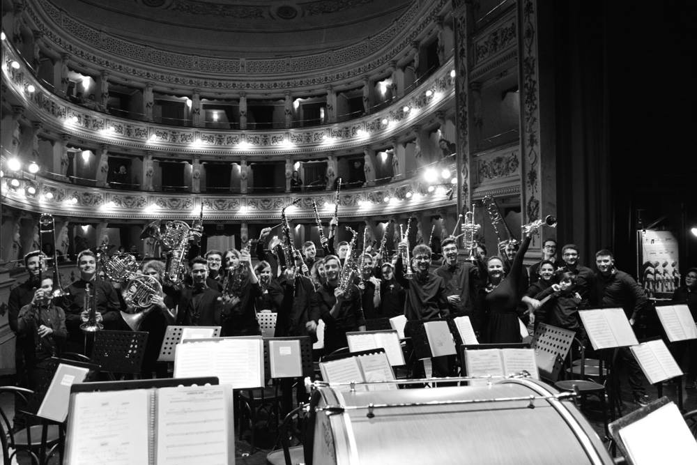 Maestro Lelio Leoni e Banda giovanile Montegiorgio