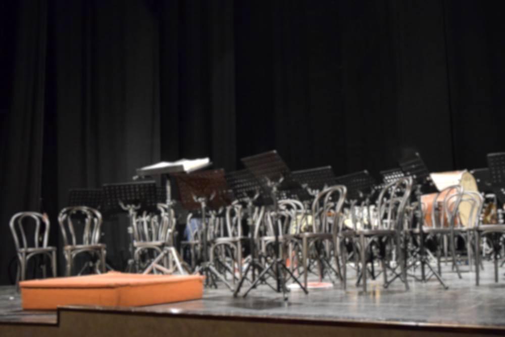 Palco vuoto Teatro Banda