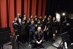 Maestro Luca Sbarbati e Junior Band Montegiorgio Teatro